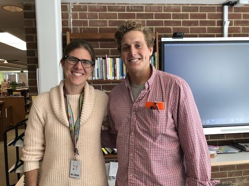 Aaron Shavel '11 Visits Da Vinci Classes
