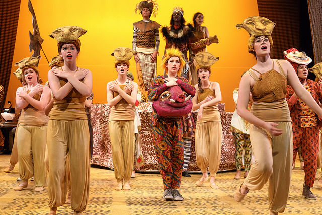 "Photos from the 8th Grade Musical: ""The Lion King"""