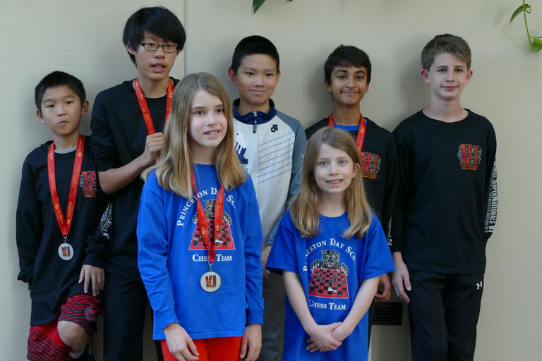 PDS Chess Team at Supernationals in Nashville