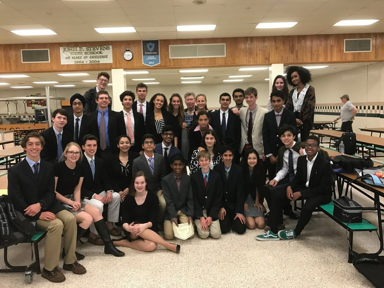 Model UN Team Excels at JP Stevens Conference