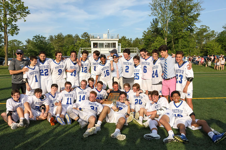 Boys Varsity Lacrosse Caps Winning Season with Prep B Crown