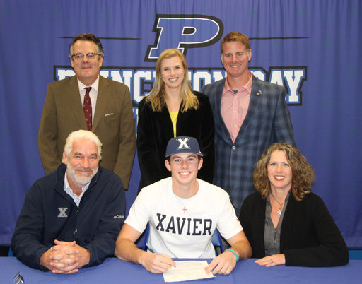 Luke Franzoni '18 Signs to Play Division I Baseball with Xavier University