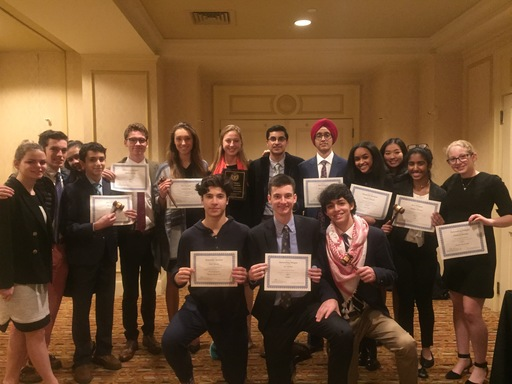 Model UN Team Racks Up Awards at Yale Conference