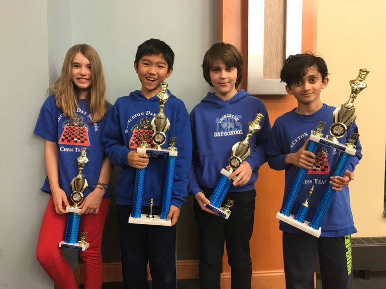 Princeton Day School Chess Team Wins First Place in Championship