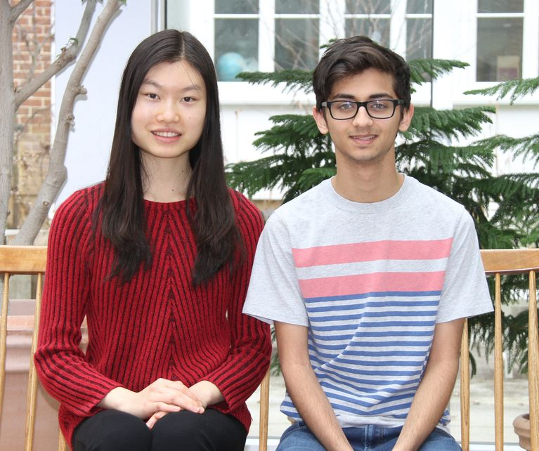 Two National Merit Scholarship Finalists
