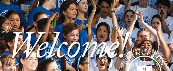 Welcome to Our New Students!