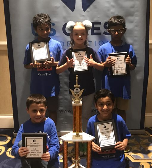 PDS Chess Team Wins Trophies at National Championship