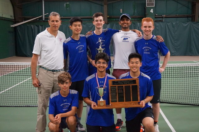 Boys Tennis Clinches Prep B Title