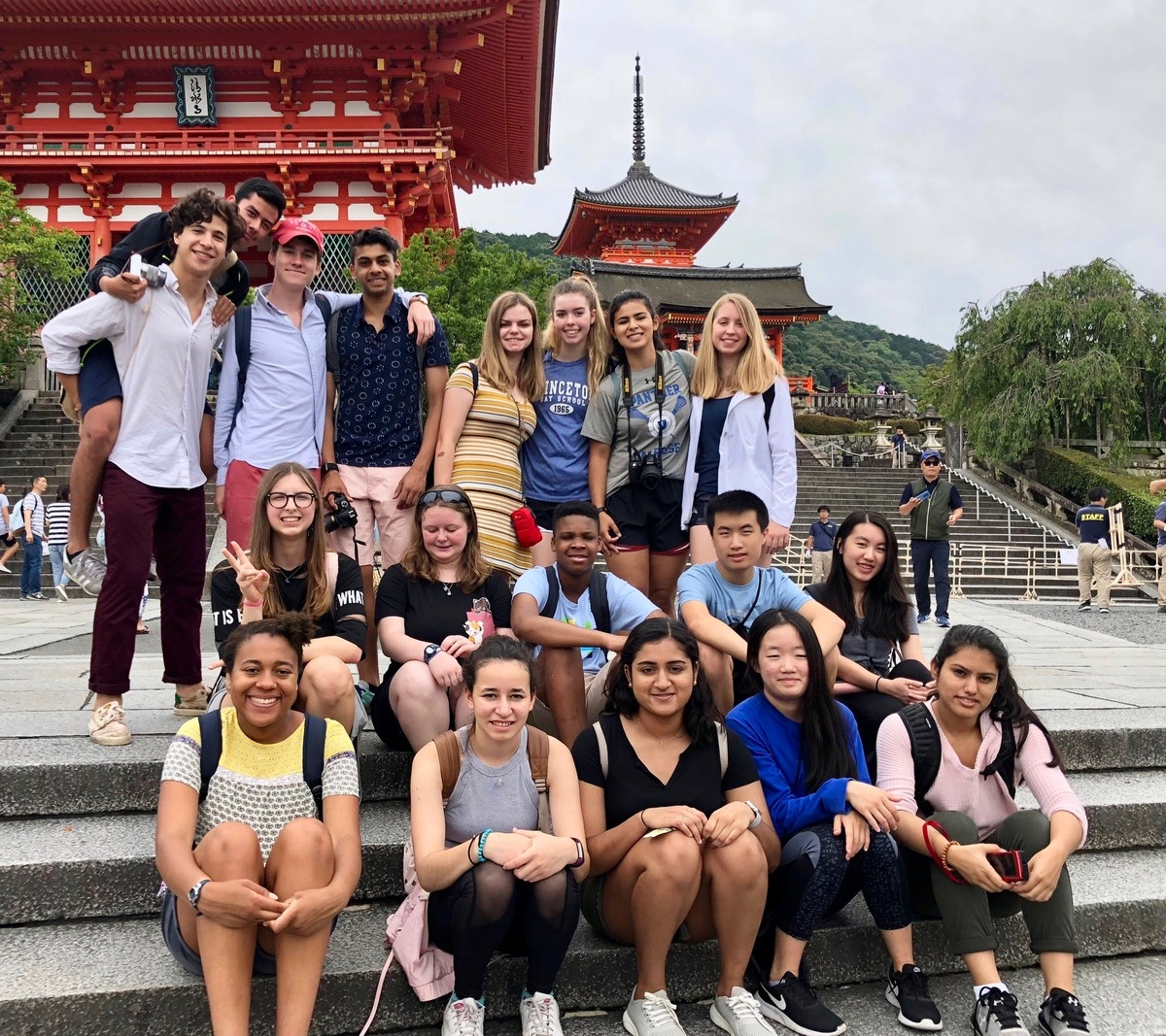 PDS Global Studies Students Enjoyed Summer Trip to Japan