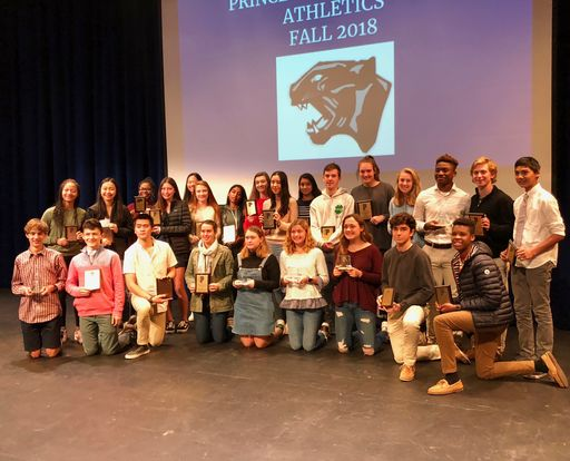 Fall Sports Awards Presented This Week