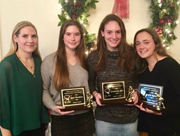 Three PDS Field Hockey Players Named to First Team at Central Jersey Field Hockey Coaches Association Banquet