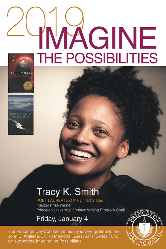 Tracy K. Smith, 22nd U.S. Poet Laureate, To Visit January 4