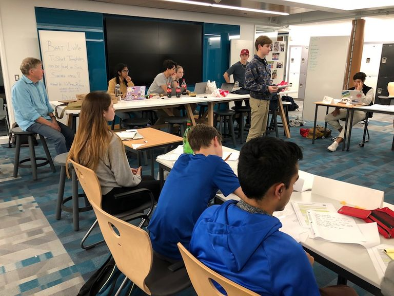 Upper School Model UN Students Shine at JP Stevens One-Day Conference