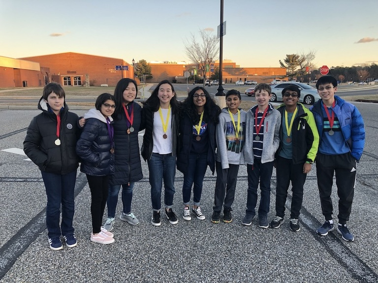 Upper and Middle School Teams Make Strong Showings at Regional Science Olympiad