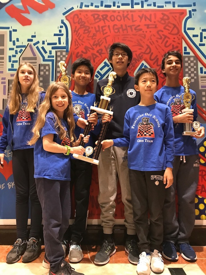 PDS Chess Earns Second Place Tie in Scholastic Chess Championship