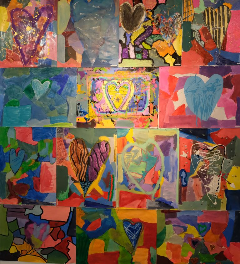 "Lower School Creativity On Display in ""We Are ALL ARTISTS"""