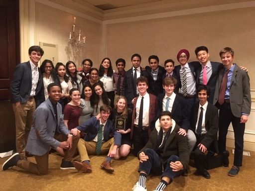 PDS Model UN Delegation Wins Best Small Delegation Award at Yale, Prepares for North American Invitational
