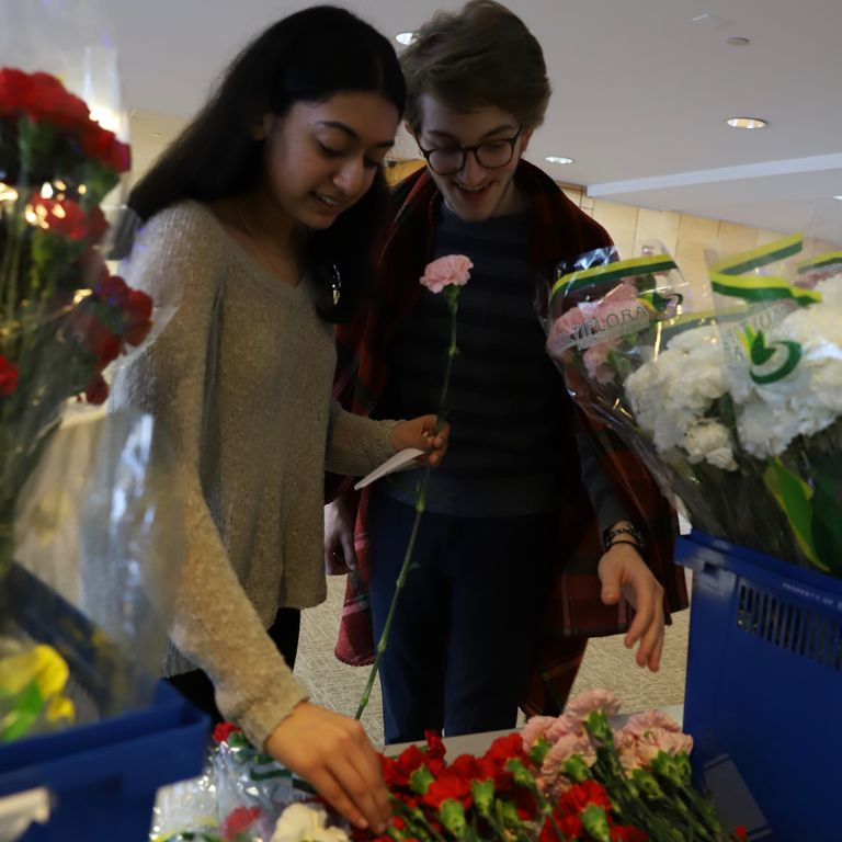 Annual Valentine's Day Carnation Sale Benefits Education Initiative in Uganda