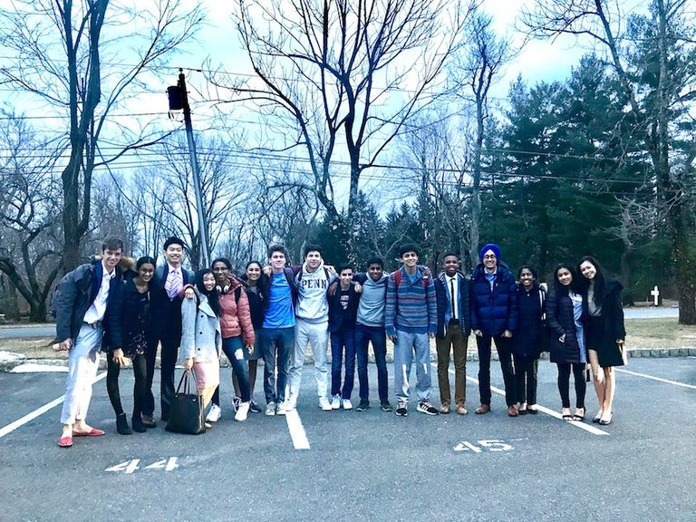 PDS Model UN Delegates Get Their Game On at NAIMUN