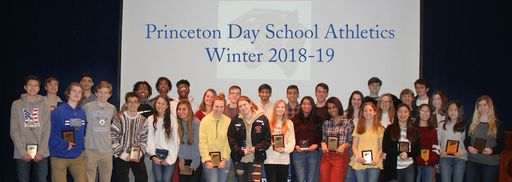 Princeton Day School Winter Sports Awards and Team Highlights