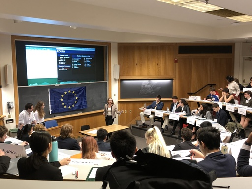 PDS Model UN Makes a Strong Showing at Dartmouth Conference