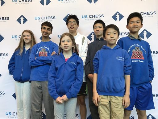 PDS Chess Makes Historic Showing at National K-9