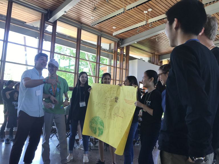 Students Call for Action at Next Gen Climate Summit