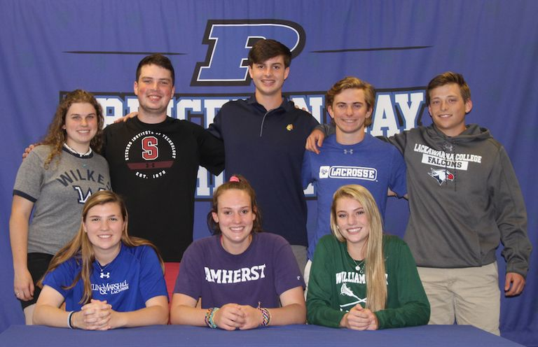 Princeton Day School Recognizes Senior Athletes Heading to College Athletics Programs