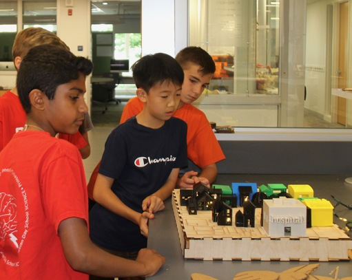 5th Graders Present Their Micro-Grid to Sustainable Princeton