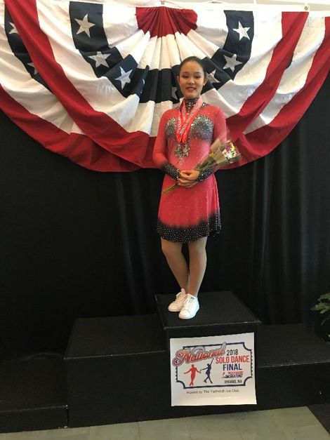 Katie Yang '21 Returns to U.S. Ice Dance Championships